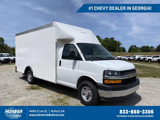 2021 Chevrolet Express 3500 4x2, Rockport Cutaway Van #CM58183 - photo 1