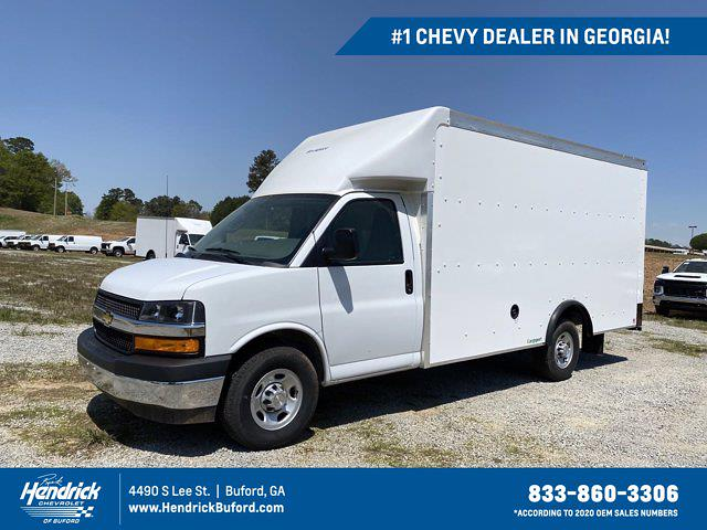 2021 Chevrolet Express 3500 4x2, Rockport Cutaway Van #CM59852 - photo 1