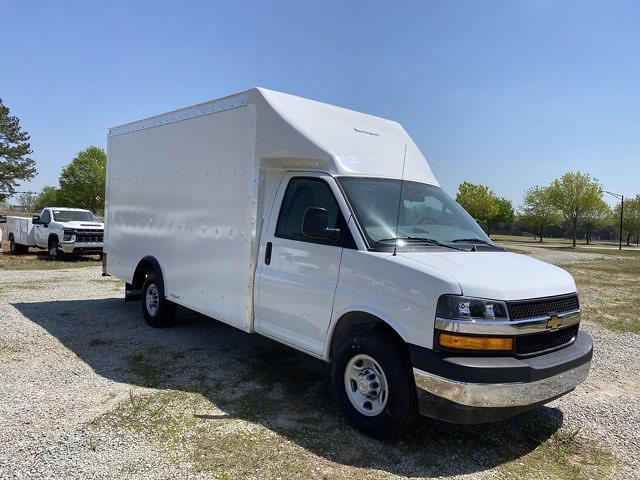2021 Chevrolet Express 3500 4x2, Rockport Cargoport Cutaway Van #CM59852 - photo 6