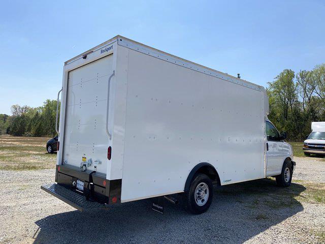 2021 Chevrolet Express 3500 4x2, Rockport Cargoport Cutaway Van #CM59852 - photo 8