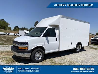2021 Chevrolet Express 3500 4x2, Rockport Cargoport Cutaway Van #CM59852 - photo 1