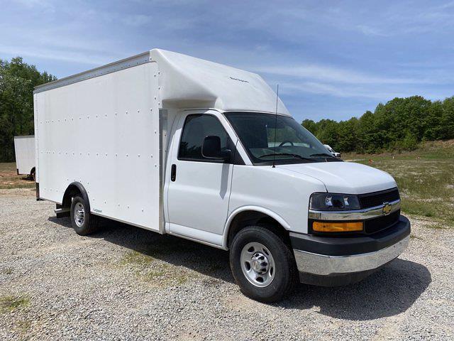 2021 Chevrolet Express 3500 4x2, Rockport Cargoport Cutaway Van #CM60270 - photo 8