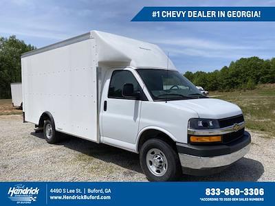 2021 Chevrolet Express 3500 4x2, Rockport Cargoport Cutaway Van #CM60270 - photo 1