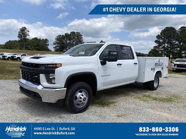 2021 Chevrolet Silverado 3500 Crew Cab AWD, Reading Service Body #CM72403 - photo 1