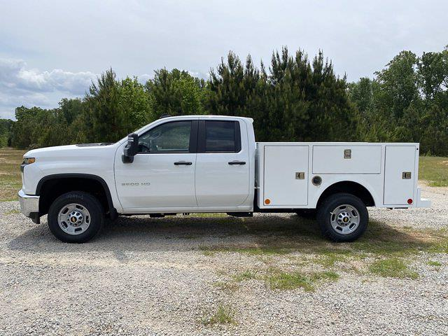 2021 Chevrolet Silverado 2500 Double Cab 4x4, Warner Select Pro Service Body #CM91983 - photo 6