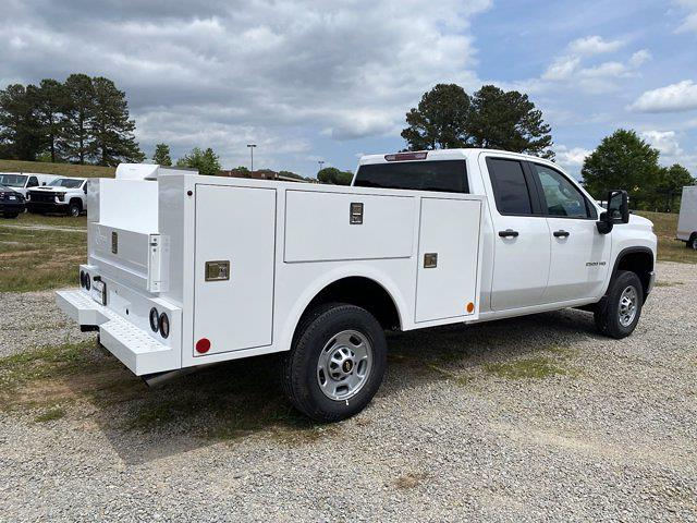 2021 Chevrolet Silverado 2500 Double Cab 4x4, Warner Select Pro Service Body #CM91983 - photo 4