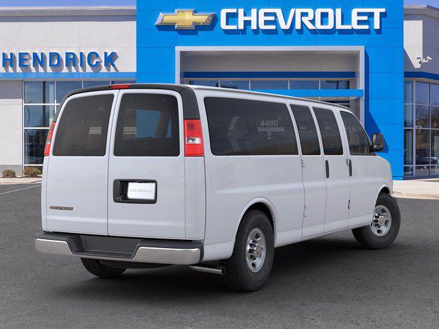 2020 Chevrolet Express 3500 4x2, Passenger Wagon #DL28055 - photo 2