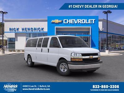 2020 Chevrolet Express 3500 4x2, Passenger Wagon #DL28055 - photo 1