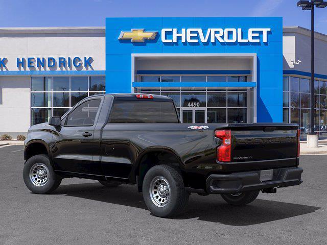 2021 Chevrolet Silverado 1500 Regular Cab 4x4, Pickup #DM70744 - photo 4