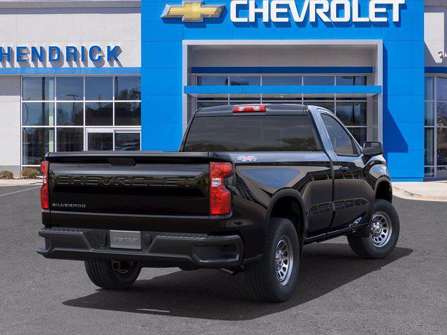 2021 Chevrolet Silverado 1500 Regular Cab 4x4, Pickup #DM70744 - photo 5