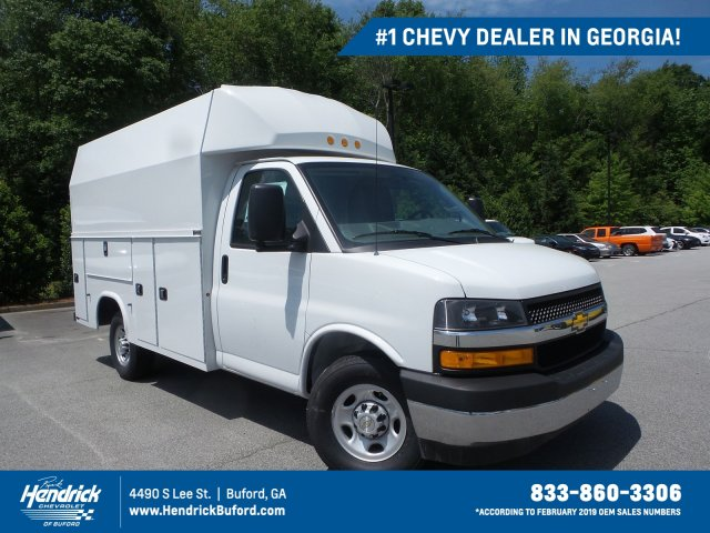 New 2019 Chevrolet Express 3500 Service Utility Van For Sale