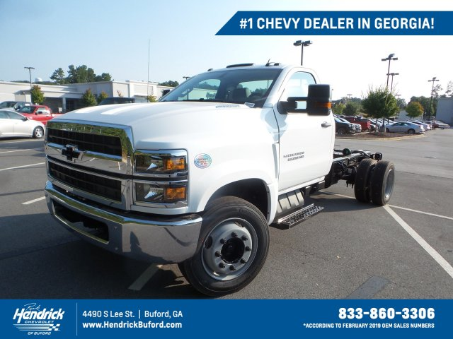 2019 Silverado Medium Duty Regular Cab DRW 4x2,  Cab Chassis #KH326288 - photo 1
