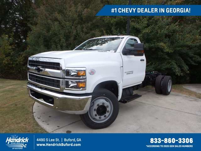 2019 Chevrolet Silverado 5500 Regular Cab DRW RWD, Cab Chassis #KH863704 - photo 1