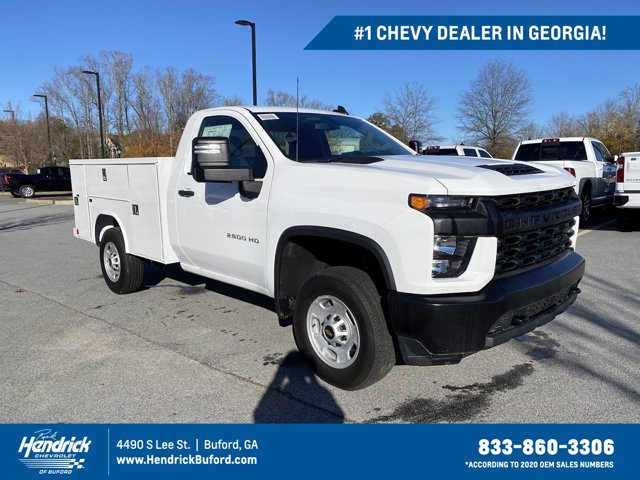 2020 Chevrolet Silverado 2500 Regular Cab 4x4, Reading Service Body #LF221393 - photo 1