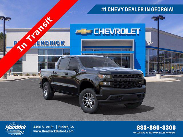 2021 Chevrolet Silverado 1500 Crew Cab 4x4, Pickup #M05901 - photo 1