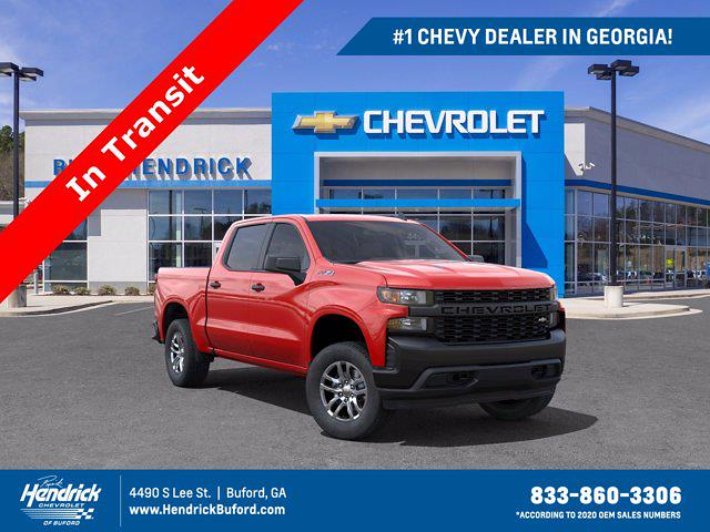 2021 Chevrolet Silverado 1500 Crew Cab 4x4, Pickup #M11375 - photo 1