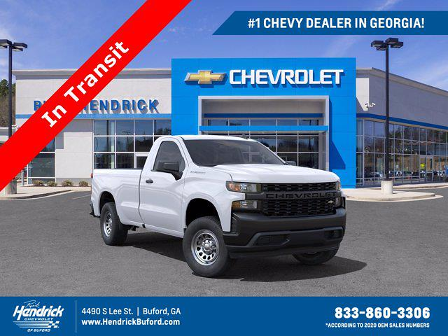2021 Chevrolet Silverado 1500 Regular Cab 4x2, Pickup #M21426 - photo 1