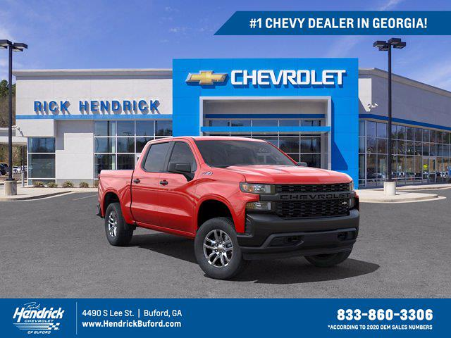 2021 Chevrolet Silverado 1500 Crew Cab 4x4, Pickup #M28966 - photo 1