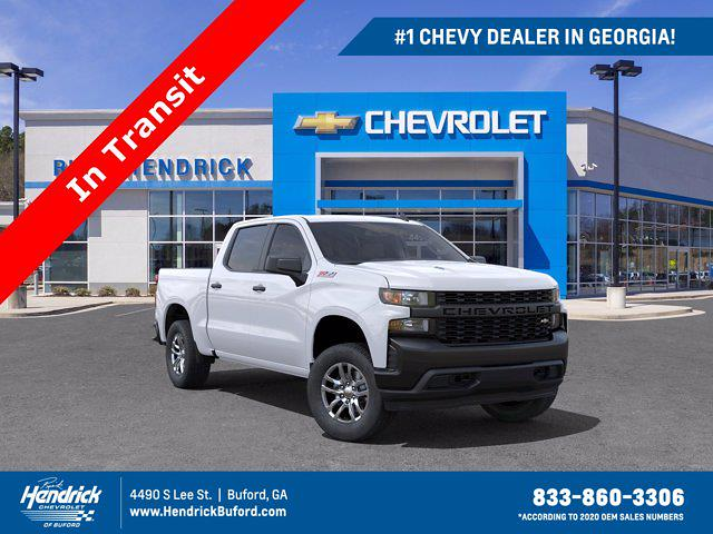 2021 Chevrolet Silverado 1500 Crew Cab 4x4, Pickup #M52797 - photo 1
