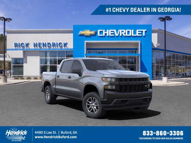 2021 Chevrolet Silverado 1500 Crew Cab 4x4, Pickup #M62746 - photo 1