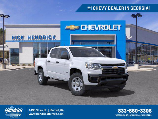 2021 Chevrolet Colorado Crew Cab 4x4, Pickup #M83591 - photo 1
