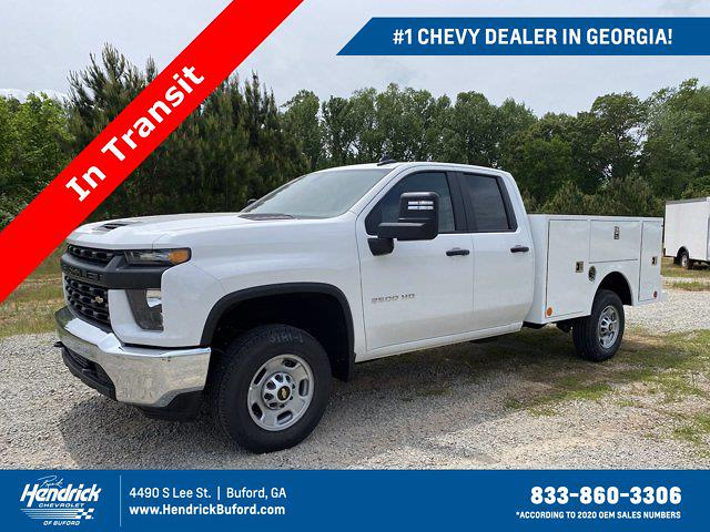 2021 Chevrolet Silverado 2500 Double Cab 4x4, Warner Service Body #CM91983 - photo 1