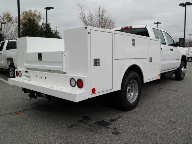 2019 Silverado 3500 Crew Cab DRW 4x2,  Warner Service Body #MF144173 - photo 1