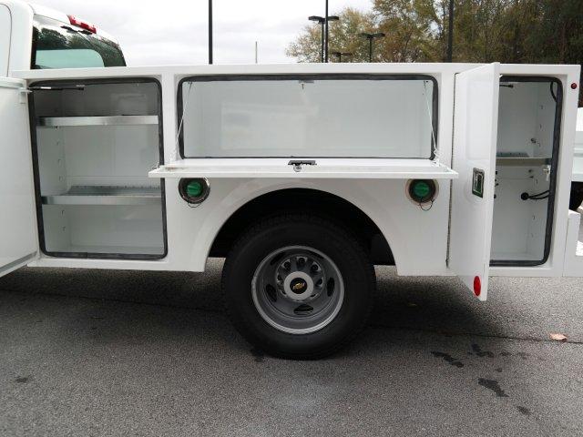 2019 Silverado 3500 Crew Cab DRW 4x2,  Warner Select II Service Body #MF144173 - photo 41
