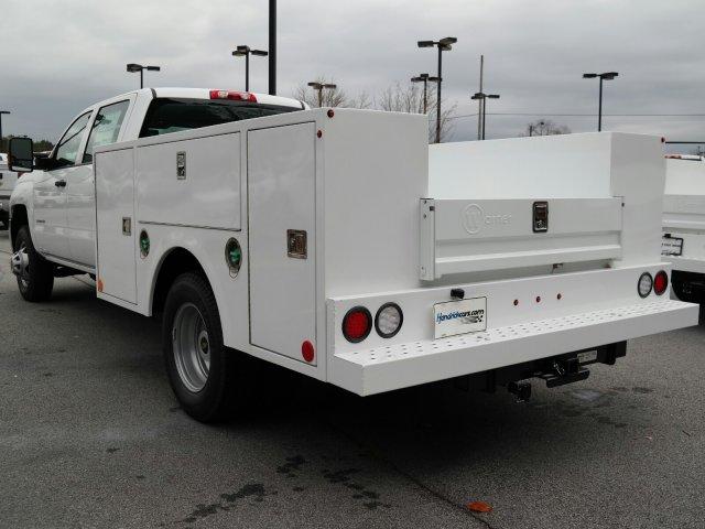2019 Silverado 3500 Crew Cab DRW 4x2,  Warner Select II Service Body #MF144173 - photo 7