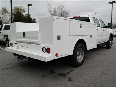 2019 Silverado 3500 Crew Cab DRW 4x2,  Warner Select II Service Body #MF144173 - photo 2