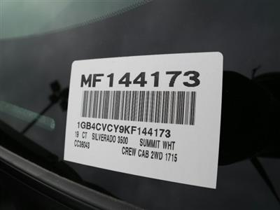 2019 Silverado 3500 Crew Cab DRW 4x2,  Warner Select II Service Body #MF144173 - photo 44