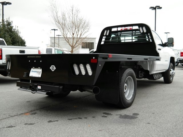 2019 Silverado 3500 Regular Cab DRW 4x4,  CM Truck Beds Platform Body #MF145187 - photo 1