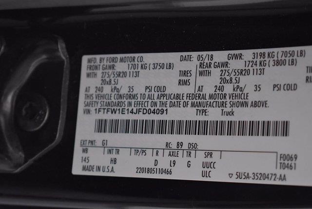 2018 Ford F-150 SuperCrew Cab 4x4, Pickup #SA20927 - photo 44