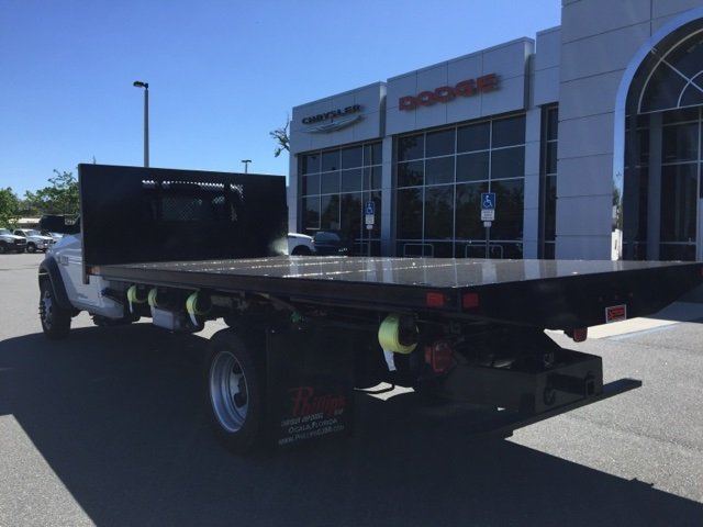 2017 Ram 5500 Regular Cab DRW 4x4, Action Fabrication Platform Body #171530 - photo 2