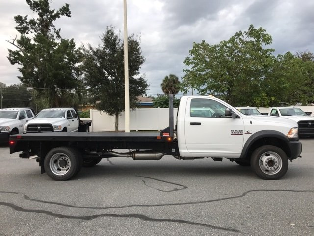 2017 Ram 4500 Regular Cab DRW 4x4, CM Truck Beds Platform Body #171565 - photo 7