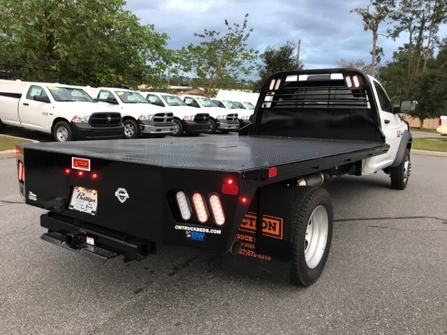 2017 Ram 4500 Regular Cab DRW 4x4, CM Truck Beds Platform Body #171565 - photo 2