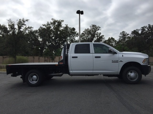 2018 Ram 3500 Crew Cab DRW 4x4, CM Truck Beds Platform Body #180159 - photo 6
