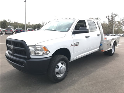 2018 Ram 3500 Crew Cab DRW 4x4, CM Truck Beds AL SK Model Platform Body #180562 - photo 1