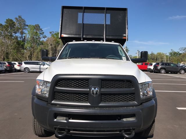 2018 Ram 5500 Regular Cab DRW 4x4, Action Fabrication Steel Flatbed Platform Body #180732 - photo 8