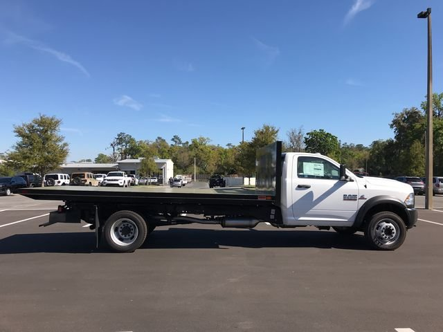 2018 Ram 5500 Regular Cab DRW 4x4, Action Fabrication Platform Body #180732 - photo 3