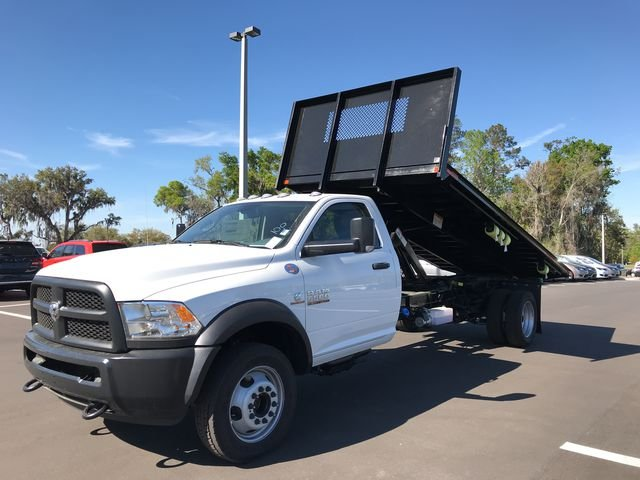 2018 Ram 5500 Regular Cab DRW 4x4,  Action Fabrication Platform Body #180732 - photo 7