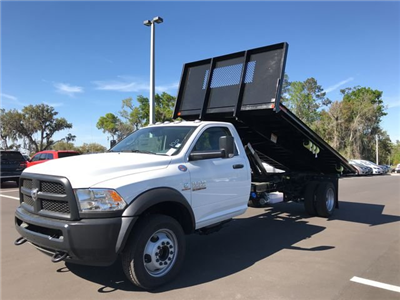 2018 Ram 5500 Regular Cab DRW 4x4, Action Fabrication Steel Flatbed Platform Body #180732 - photo 7