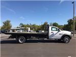 2018 Ram 5500 Regular Cab DRW 4x4, Action Fabrication Steel Flatbed Platform Body #180732 - photo 3