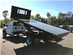 2018 Ram 5500 Regular Cab DRW 4x4, Action Fabrication Steel Flatbed Platform Body #180732 - photo 5