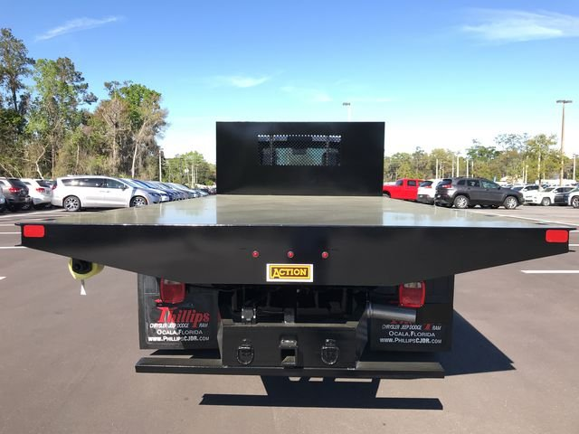 2018 Ram 5500 Regular Cab DRW 4x4, Action Fabrication Platform Body #180761 - photo 4