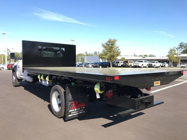 2018 Ram 5500 Regular Cab DRW 4x4, Action Fabrication Platform Body #180761 - photo 5