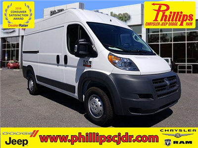 2018 ProMaster 1500 High Roof FWD,  Empty Cargo Van #180802 - photo 1