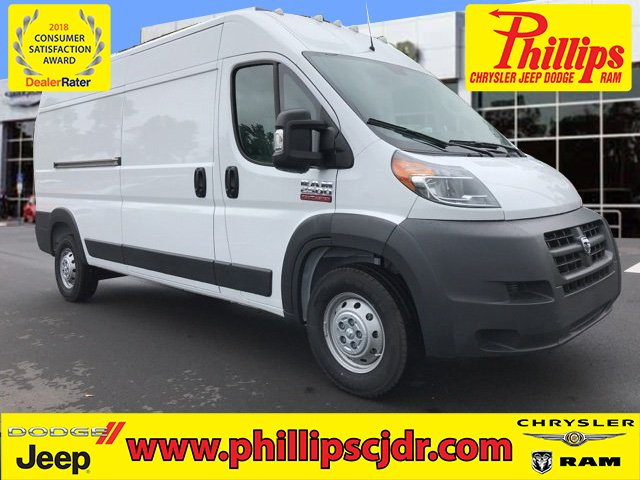 2018 ProMaster 2500 High Roof FWD,  Empty Cargo Van #180805 - photo 1