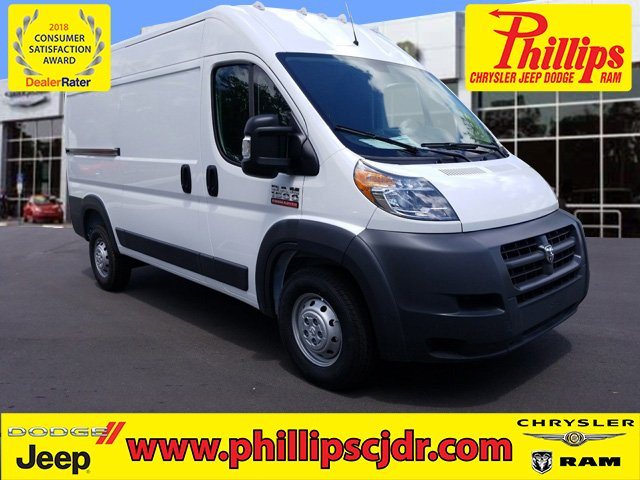 2018 ProMaster 1500 High Roof FWD,  Empty Cargo Van #180882 - photo 1