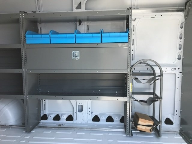 2018 ProMaster 2500 High Roof,  Adrian Steel General Service Upfitted Cargo Van #181024 - photo 18